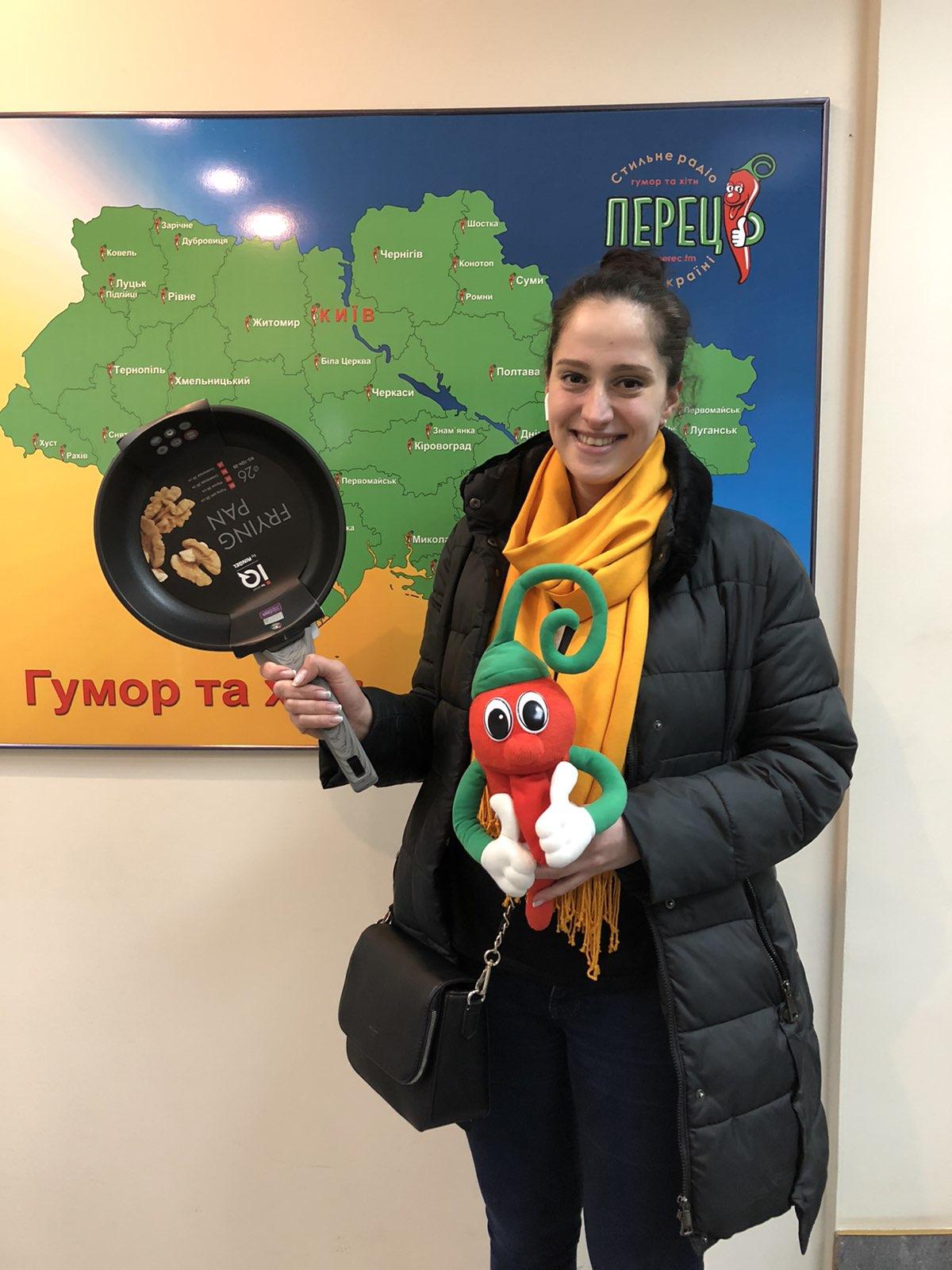 Вітаємо нашу щасливу переможицю Олександру з Києва!!!